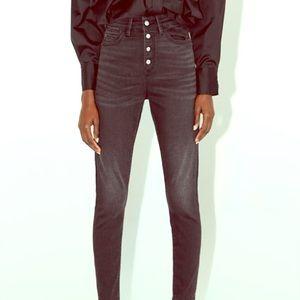 ZARA skinny 1975 jeans denim size 4. HIGH RISE